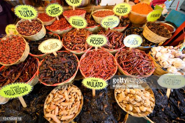 different kind of chili, mexico - mexico stock pictures, royalty-free photos & images