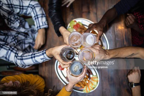 different kinds of beer - toasting stock pictures, royalty-free photos & images