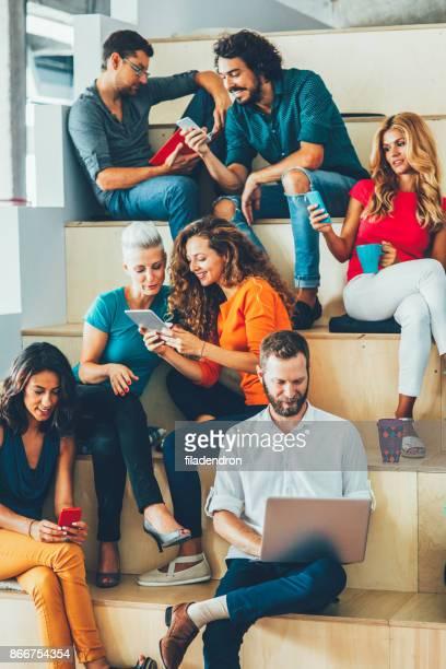conceito de diferentes estilos de vida - rede social - fotografias e filmes do acervo