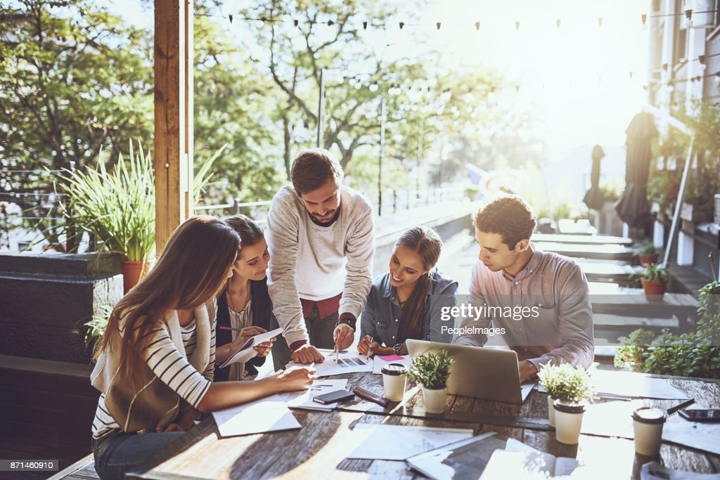 Different location, better productivity : Stock Photo
