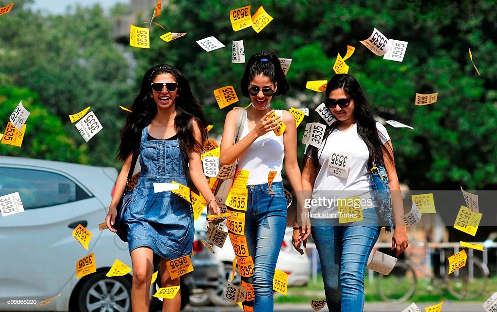Different mood of students' union elections at Panjab University on September 6 2016 in Chandigarh India