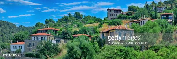 a different parthenon panorama - dimitrios tilis stock pictures, royalty-free photos & images