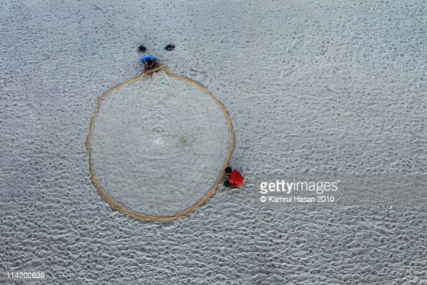 a different perspective - fishing in bangladesh stock photos and pictures