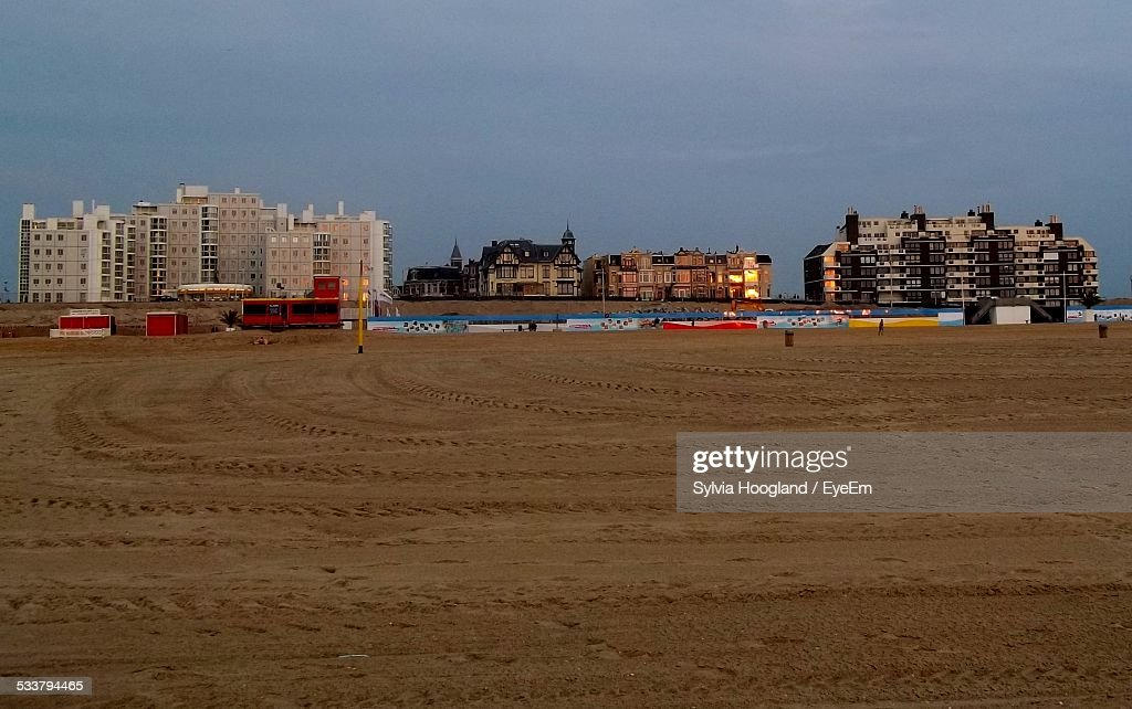 Different Residential Structures In A Row : Foto stock