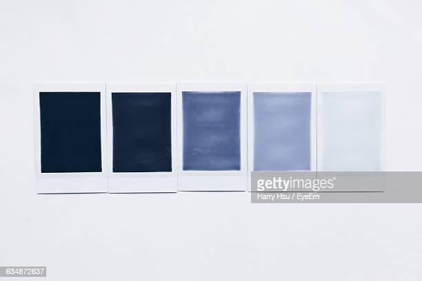 different shades of blue on white background - fading stock pictures, royalty-free photos & images