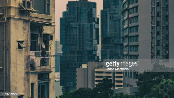 different styles in hk - jakob montrasio stock pictures, royalty-free photos & images