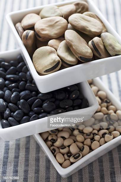 different types of beans - black eyed peas food stock pictures, royalty-free photos & images