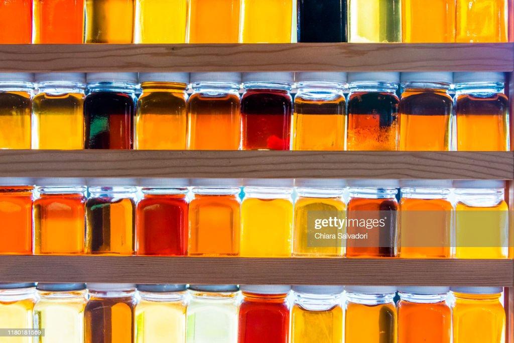 A Different Types Of Maple Syrup High Res Stock Photo Getty Images