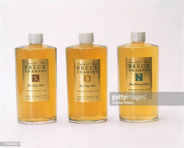 Different types of shampoo bottles
