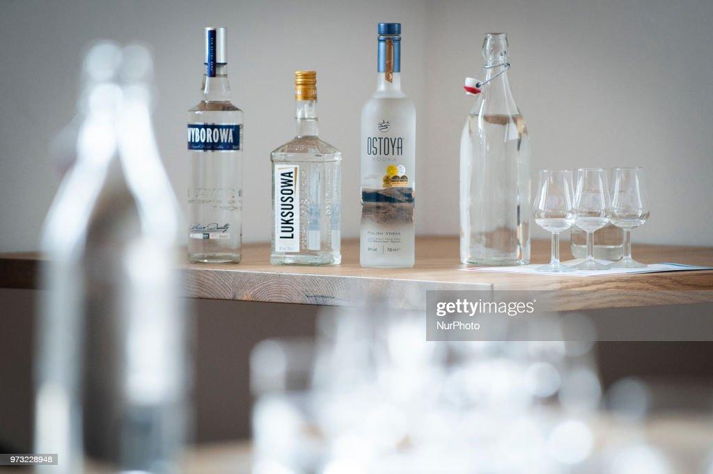 Opening of Polish Vodka Museum : News Photo