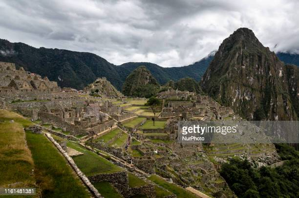 Different views of Machu Picchu Peru's most important tourist destination and one of the 7 Wonders Built most probably by Inca Chapacutec in the 15th...