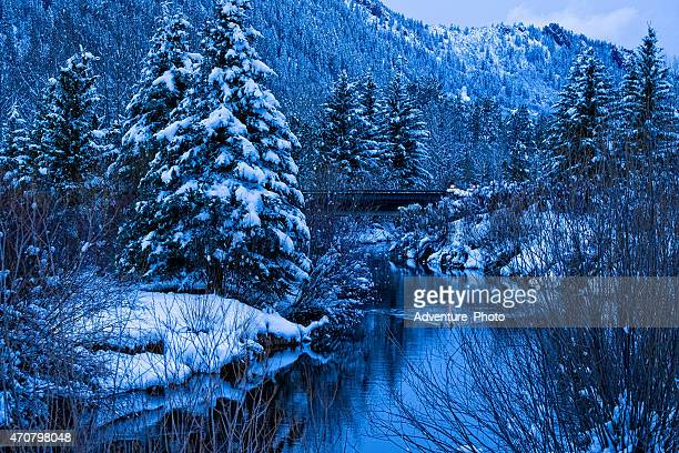 Difficult Creek Winter Scenic Aspen Colorado