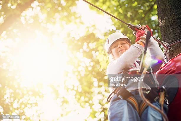 Schwierige ropes course