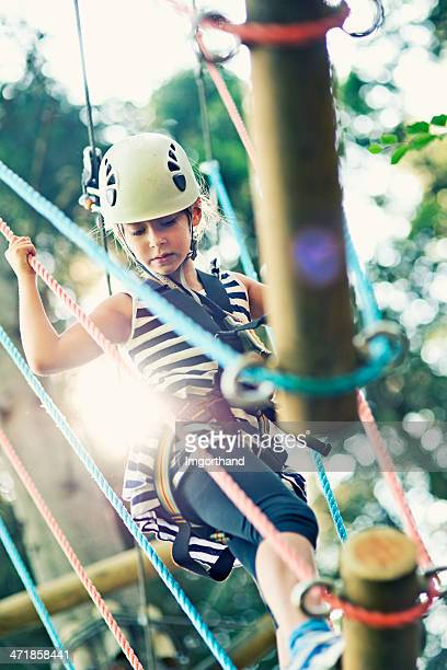 Difficult ropes course