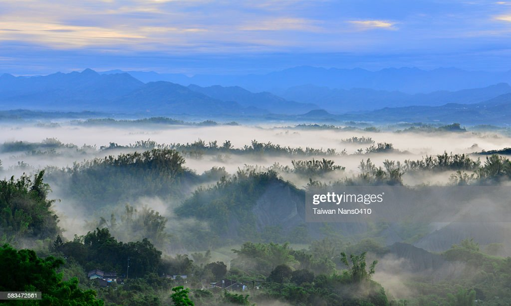 Diffuse clouds : Stock Photo