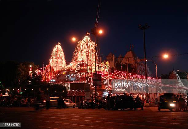 digambara jain-tempel in delhi - digambara stock-fotos und bilder