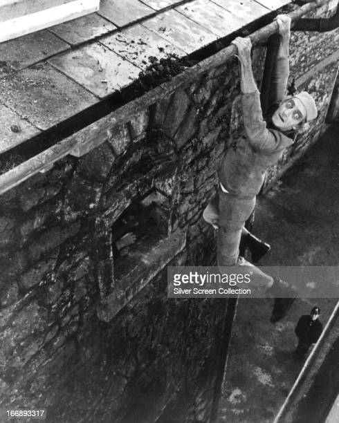 Digby Geste played by English actor and comedian Marty Feldman escapes from prison in 'The Last Remake of Beau Geste' directed by Feldman 1977