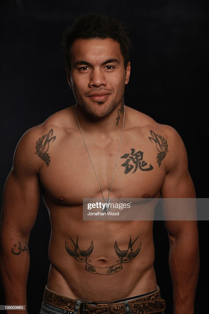Digby Ioane poses during a Queensland Reds Super 14 portrait session at Ballymore on May 20, 2010 in Brisbane, Australia.