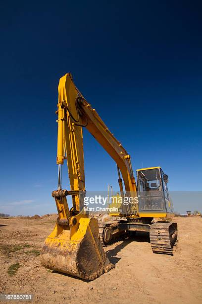 digger - excavator stock photos and pictures