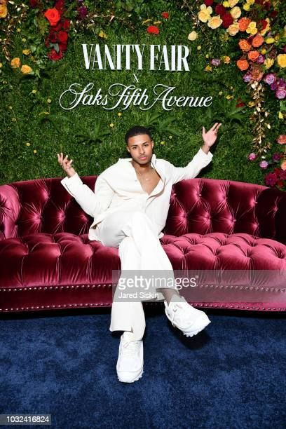 Diggy Simmons attends as Vanity Fair and Saks Fifth Avenue celebrate Vanity Fair's BestDressed 2018 at Manhatta on September 12 2018 in New York City
