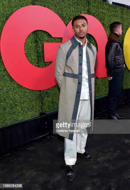 Diggy Simmons attends the 2018 GQ Men of the Year Party at a private residence on December 6 2018 in Beverly Hills California