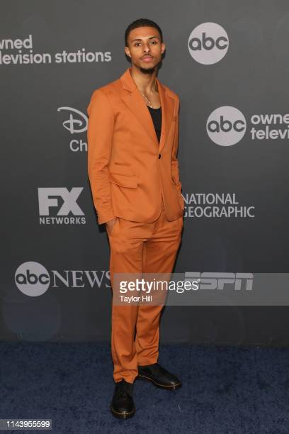 Diggy Simmons attends the 2019 ABC Walt Disney Television Upfront at Tavern on the Green on May 14 2019 in New York City