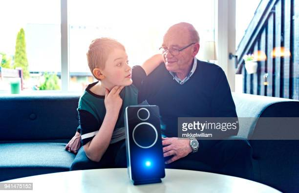 Digital assistant makes family bond around technology in their home
