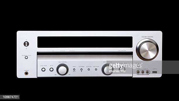 Digital audio system isolated on black with clipping path