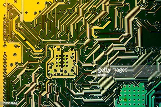 Digital background with electronic circuit