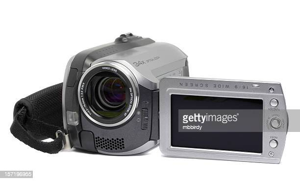 HDD digital camera, isolated on white background