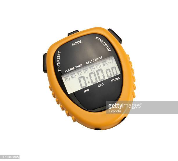 Digital Chronometer +Clipping Path