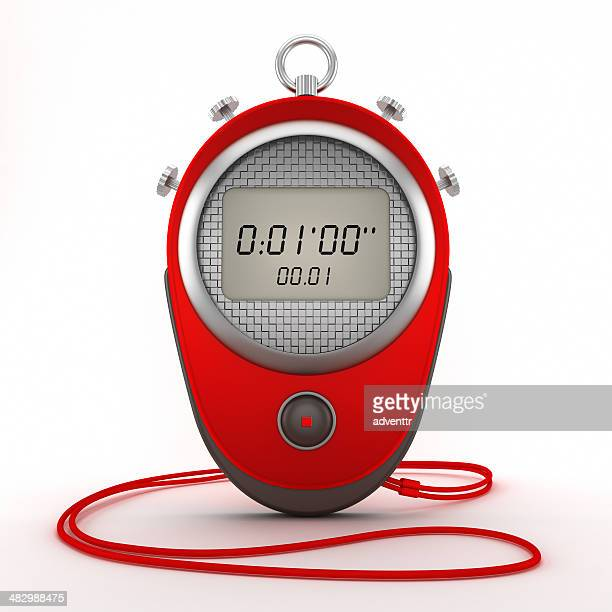 digital chronometer - sporting term stockfoto's en -beelden