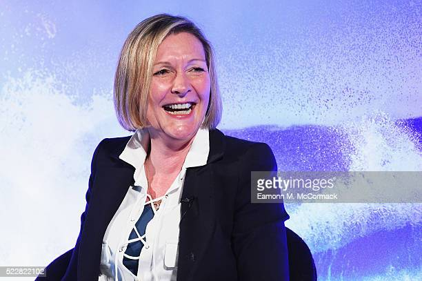 Digital Cinema Media Karen Stacey during The Great Advertising Jargon Detox Advertising Week Europe 2016 day 4 at Picturehouse Central on April 21...