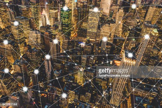 Digital City and Blockchain of Manhattan