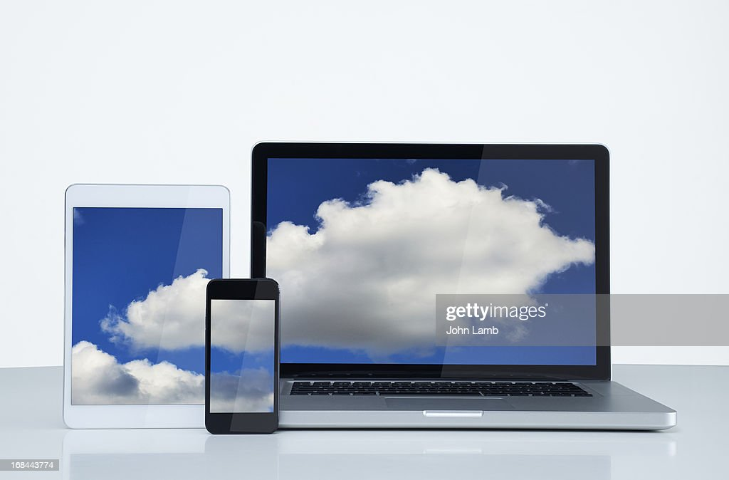 Digital cloud : Stock Photo