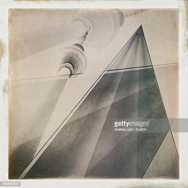 Digital Composite Image Of Fernsehturm Tower