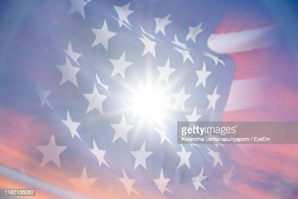 digital composite of american flag - american flag background stock pictures, royalty-free photos & images