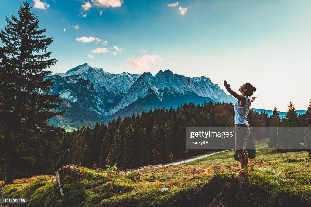 Digital Detox en Garmisch-Partenkirchen, Alemania : Foto de stock