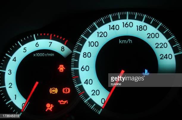 digital dial plate of car series