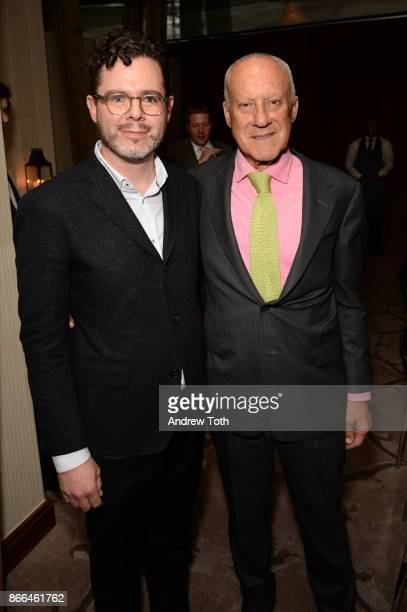Digital Director of Surface Magazine Bill Hanley and architect Lord Norman Foster attend Surface celebrates the November power issue with Norman...