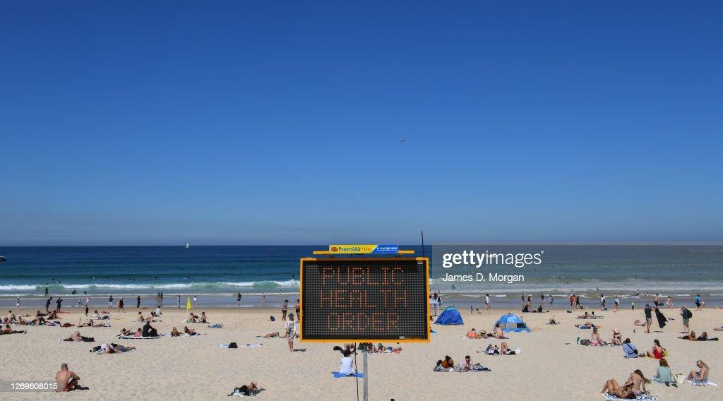 Sydneysiders Enjoy Warmer Than Average August Weather : News Photo