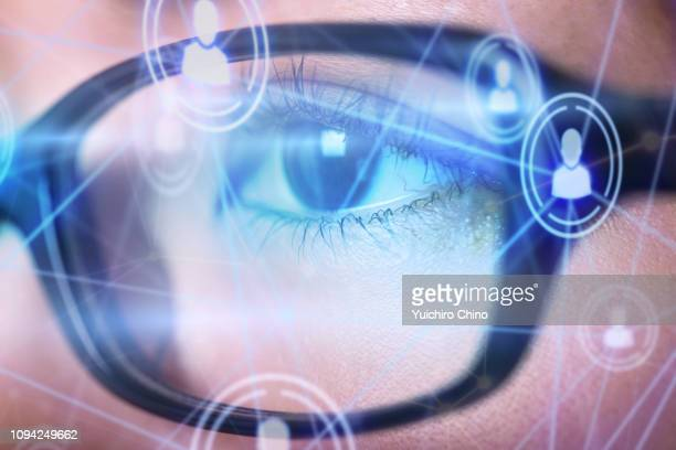 digital eye - data privacy stock pictures, royalty-free photos & images