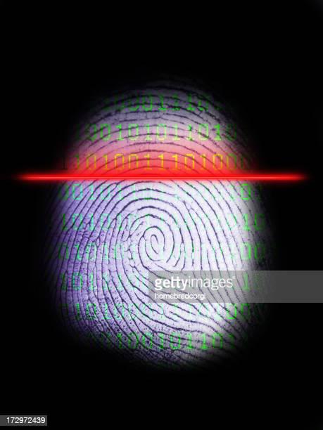 Digital Fingeprint Scanner on Black 3