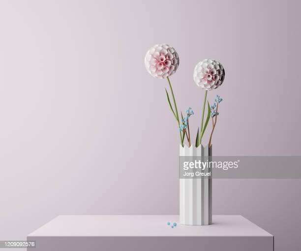 digital flower still life - still life stock pictures, royalty-free photos & images