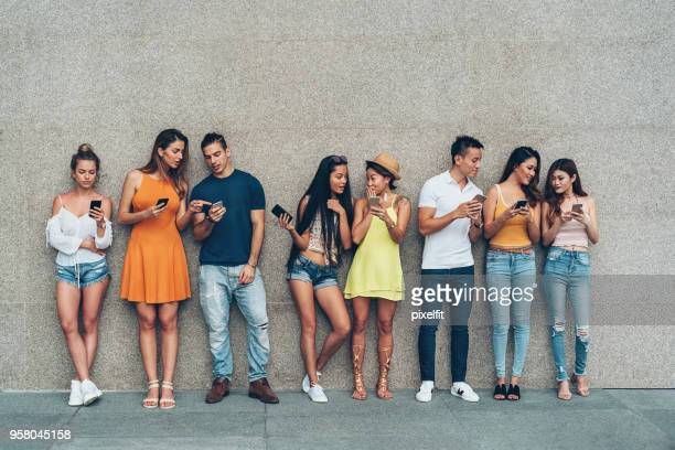 digital generation - millennial generation stock pictures, royalty-free photos & images
