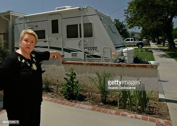 Digital Image taken on Tuesday, , Los Angeles, CA – Terry Bauer who has lived of Macafee Road for 25 years, is urging the Torrance city council to...
