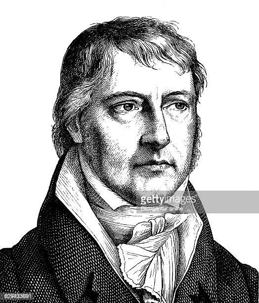 Digital improved image of georg wilhelm friedrich hegel 1770 1831 german philosopher portrait historical illustration 1880