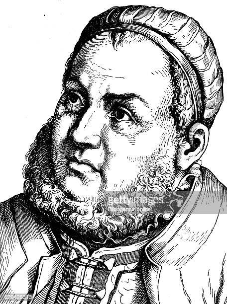 Digital improved image of johann friedrich the magnanimous elector and duke of saxony 1503 1554 portrait historical illustration 1880