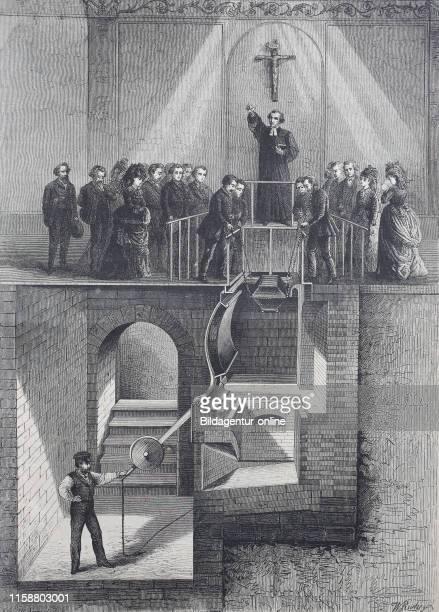 Digital improved reproduction crematory crematorium cremator or retort Sir Charles William Siemens had developed this regenerative furnace in the...
