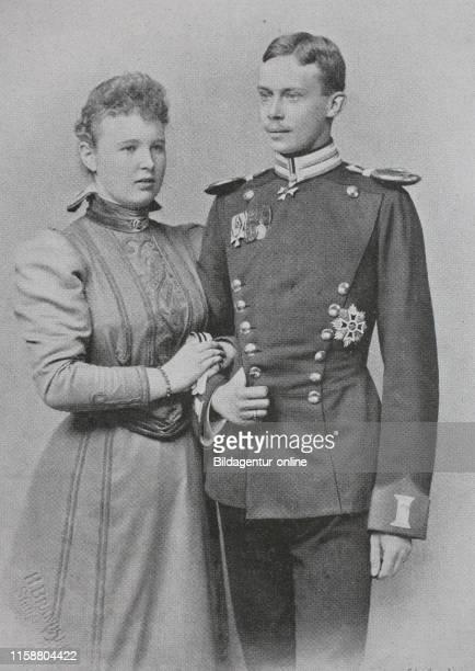 Digital improved reproduction, Wilhelm Friedrich Hermann Otto Karl, Furst zu Wied, also Friedrich Furst zu Wied, 1872 - 1945, and Pauline Olga Helene...